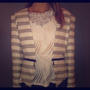Jackets & Blazers - Super cute blazer and sparkly top